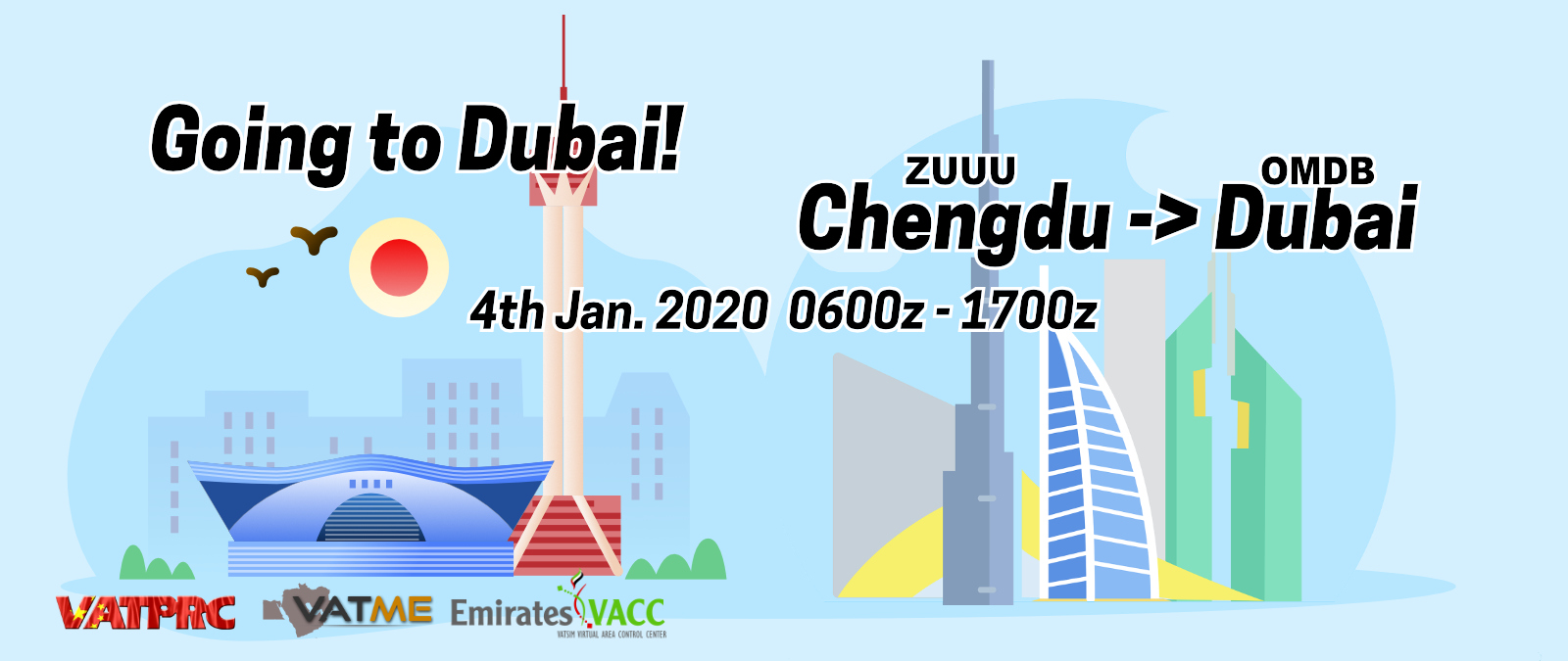 [2020-01-04] Going To Dubai